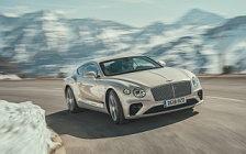 Обои автомобили Bentley Continental GT First Edition (White Sand) - 2018