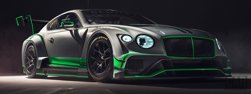 Обои автомобили Bentley Continental GT3 - 2018 - Car wallpapers