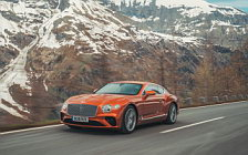 Обои автомобили Bentley Continental GT (Orange Flame) - 2018