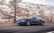 Обои автомобили Bentley Continental GT (Sequin Blue) - 2018