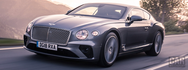 Обои автомобили Bentley Continental GT (Tungsten) - 2018 - Car wallpapers