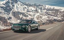 Обои автомобили Bentley Continental GT (Verdant) - 2018
