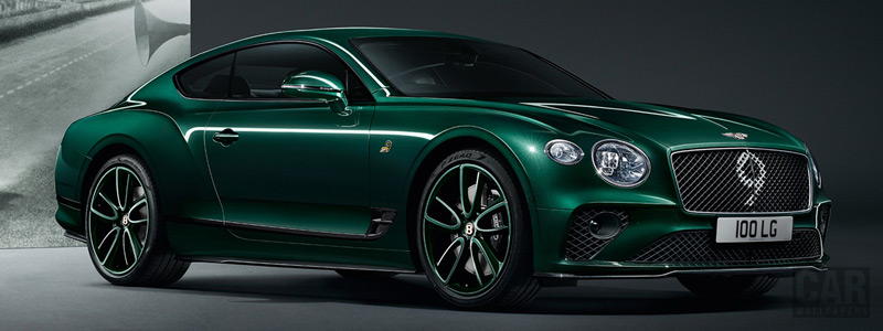 Обои автомобили Bentley Continental GT Number 9 Edition - 2019 - Car wallpapers