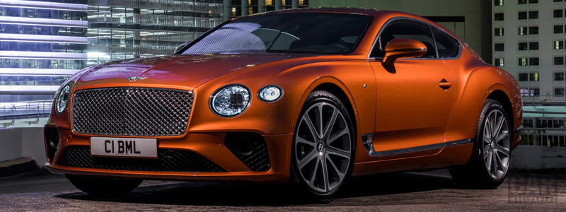Обои автомобили Bentley Continental GT V8 - 2019 - Car wallpapers