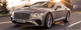 Bentley Continental GT (Extreme Silver) - 2018