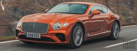Bentley Continental GT (Orange Flame) - 2018