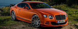 Bentley Continental GT Speed UK-spec - 2014