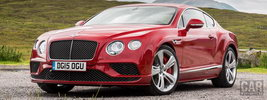 Bentley Continental GT Speed UK-spec - 2015