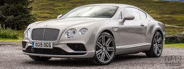Bentley Continental GT UK-spec - 2015