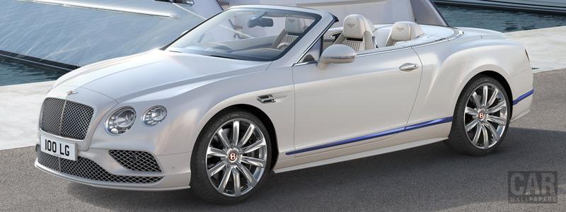 Обои автомобили Bentley Continental GT Convertible Galene Edition - 2017 - Car wallpapers