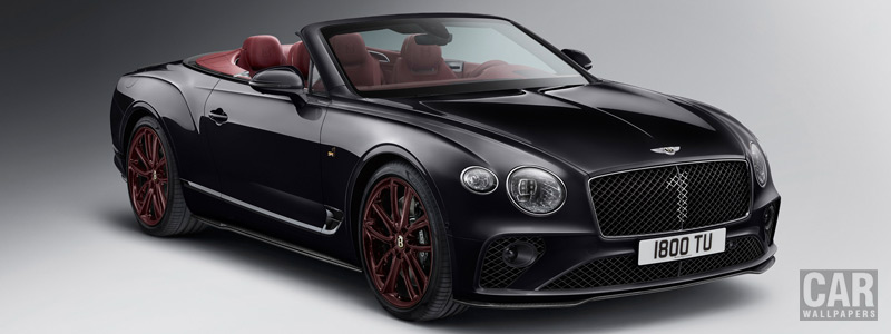 Обои автомобили Bentley Continental GT Convertible Number 1 Edition by Mulliner - 2019 - Car wallpapers