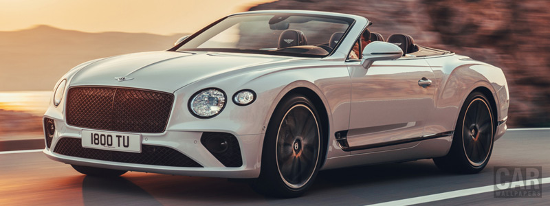 Обои автомобили Bentley Continental GT Convertible - 2019 - Car wallpapers