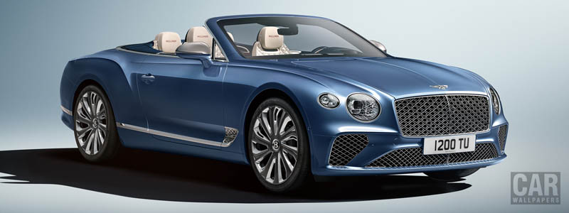 Обои автомобили Bentley Continental GT Mulliner Convertible - 2020 - Car wallpapers