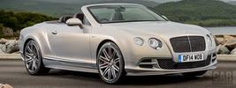 Bentley Continental GT Speed Convertible UK-spec - 2014