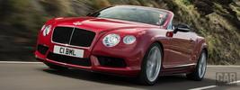 Bentley Continental GT V8 S Convertible - 2013