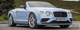 Bentley Continental GT V8 S Convertible UK-spec - 2015