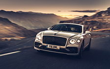 Обои автомобили Bentley Flying Spur Blackline (White Sand) - 2019