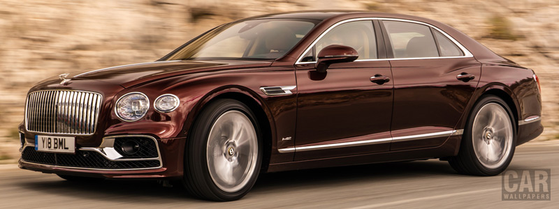 Обои автомобили Bentley Flying Spur (Cricket Ball) - 2019 - Car wallpapers