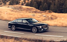 Обои автомобили Bentley Flying Spur (Dark Sapphire) - 2019