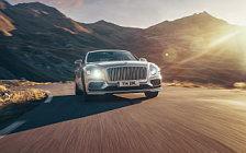 Обои автомобили Bentley Flying Spur (Extreme Silver) - 2019