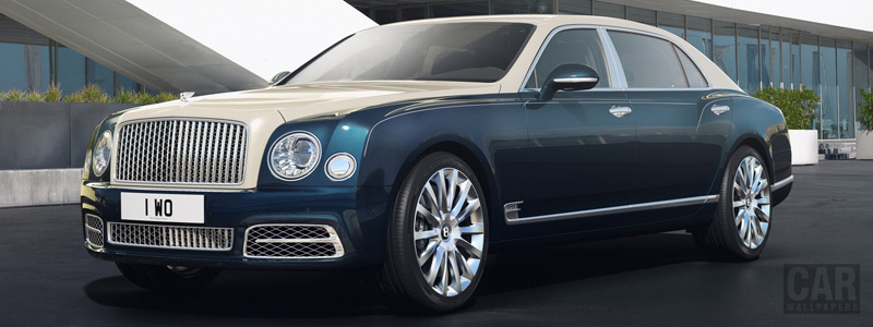 Cars wallpapers Bentley Mulsanne Hallmark Series by Mulliner - 2017 - Car wallpapers