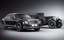 Обои автомобили Bentley Mulsanne W.O. Edition by Mulliner - 2018