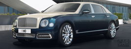 Bentley Mulsanne Hallmark Series by Mulliner - 2017