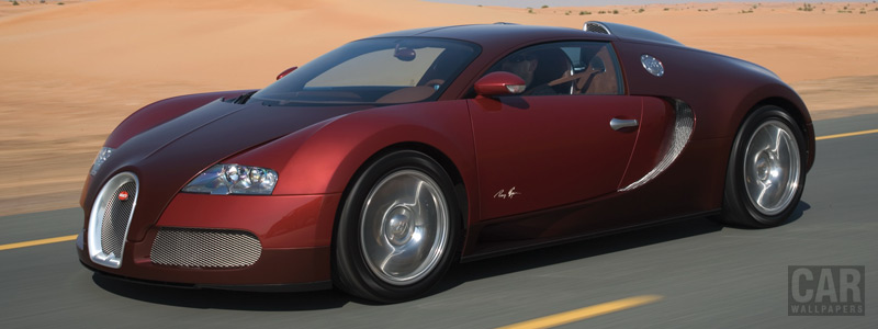 Обои автомобили Bugatti Veyron Red - 2008 - Car wallpapers