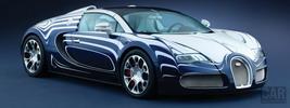 Bugatti Veyron Grand Sport L'Or Blanc - 2011