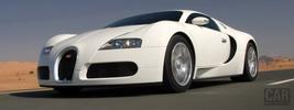 Bugatti Veyron White - 2008
