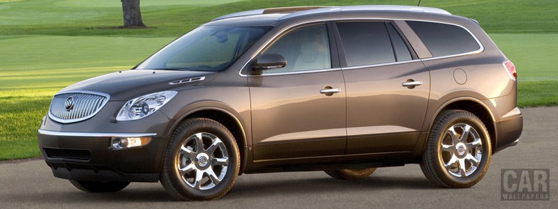 Обои автомобили Buick Enclave - 2008 - Car wallpapers