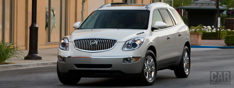 Обои автомобили Buick Enclave CXL - 2011 - Car wallpapers