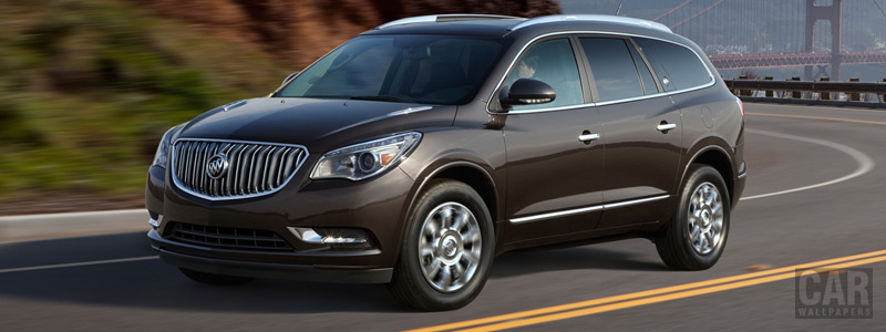 Обои автомобили Buick Enclave - 2013 - Car wallpapers