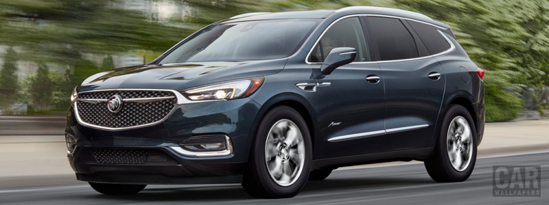 Обои автомобили Buick Enclave Avenir - 2017 - Car wallpapers