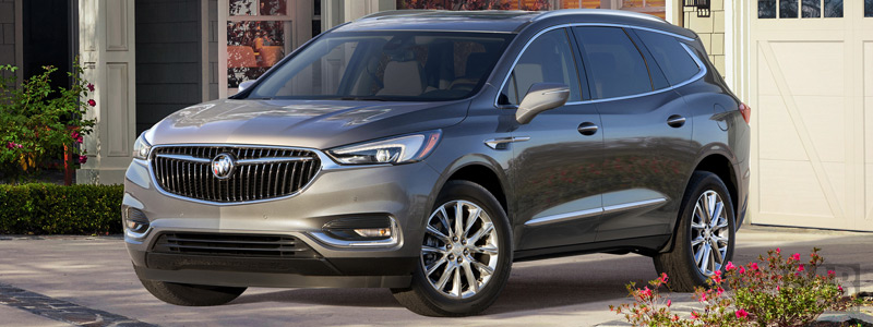 Обои автомобили Buick Enclave - 2017 - Car wallpapers