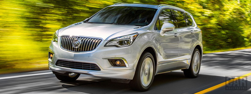 Обои автомобили Buick Envision - 2017 - Car wallpapers