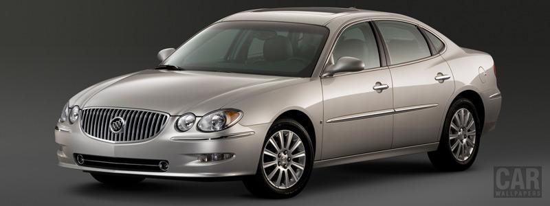 Обои автомобили Buick LaCrosse CXS - 2008 - Car wallpapers