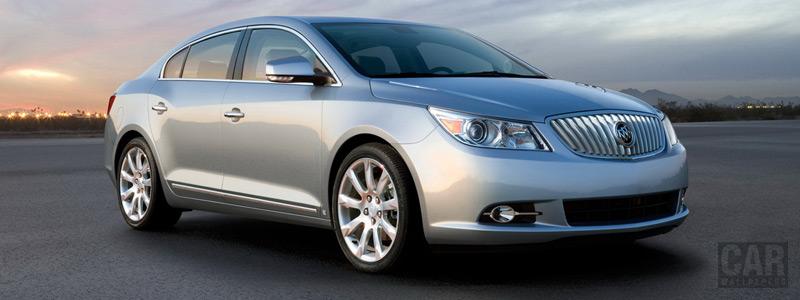 Обои автомобили Buick LaCrosse - 2010 - Car wallpapers