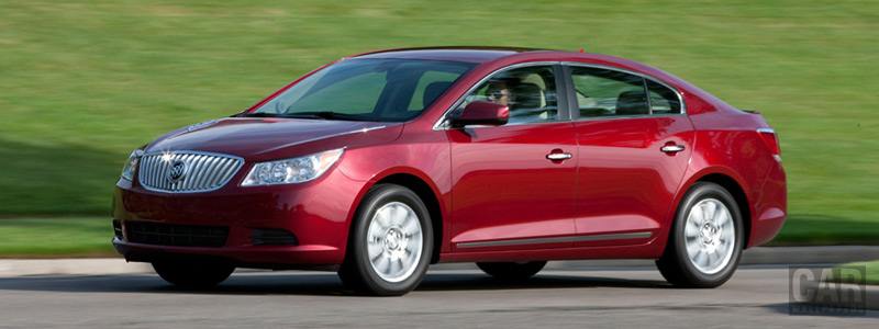 Обои автомобили Buick LaCrosse 4-Cylinder - 2011 - Car wallpapers