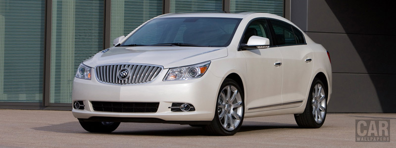 Обои автомобили Buick LaCrosse CXS - 2011 - Car wallpapers