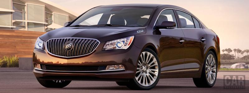 Обои автомобили Buick LaCrosse - 2014 - Car wallpapers