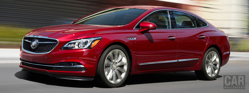 Обои автомобили Buick LaCrosse - 2017 - Car wallpapers