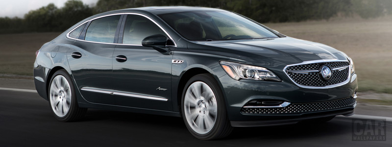 Обои автомобили Buick LaCrosse Avenir - 2018 - Car wallpapers