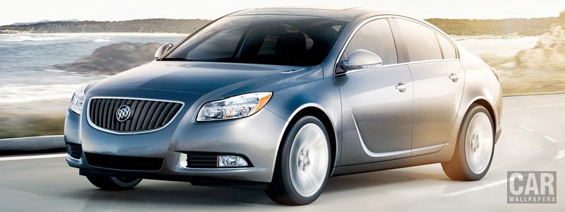 Обои автомобили Buick Regal - 2013 - Car wallpapers