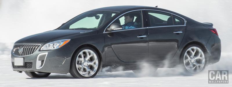 Обои автомобили Buick Regal GS AWD - 2014 - Car wallpapers