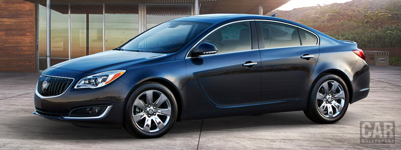Обои автомобили Buick Regal - 2014 - Car wallpapers