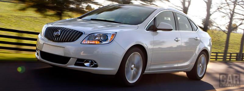 Обои автомобили Buick Verano Turbo - 2012 - Car wallpapers