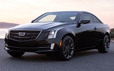 Cars wallpapers Cadillac ATS Coupe Black Chrome - 2016