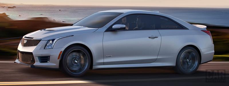 Cars wallpapers Cadillac ATS-V Coupe - 2016 - Car wallpapers