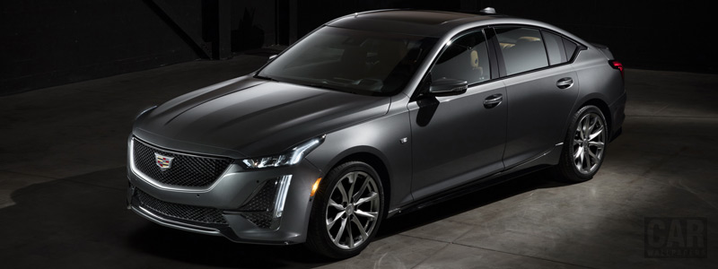 Обои автомобили Cadillac CT5 Sport - 2019 - Car wallpapers
